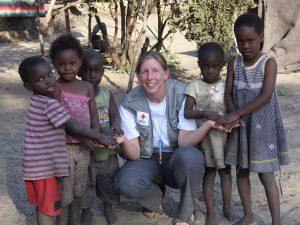 Edith Huemer in namibia