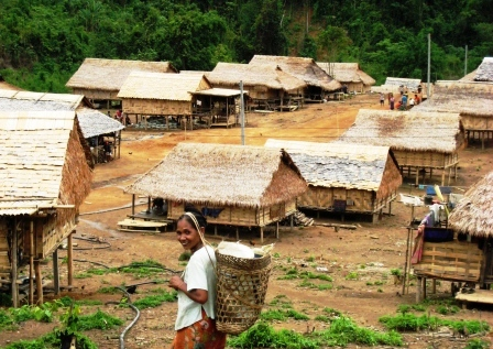 Das Dorf Namti