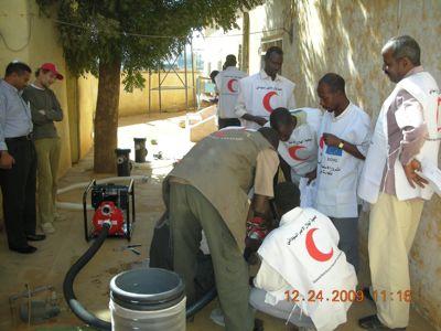 Pumpe und Saugseite, einer der Vorteile die Anlage benötigt nur eine Dieselpumpe zum Betrieb