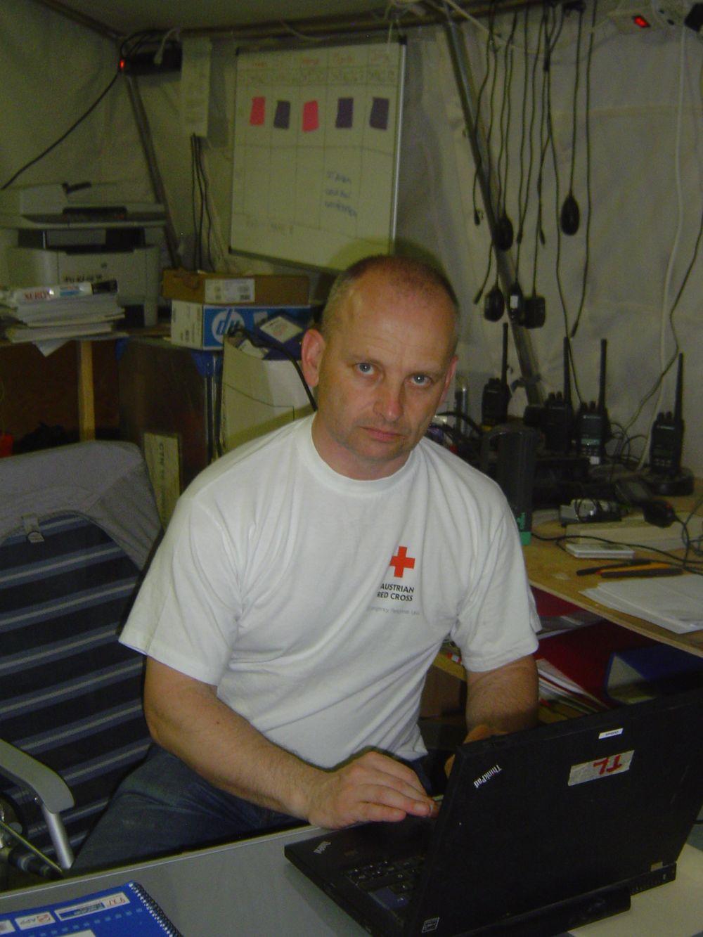 Teamleader Andreas Hattinger