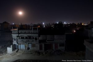 Nacht über Nawabshah (Benanzirabad)
