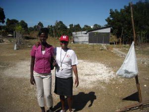 Freiwillige sind die tragende Säule des Haitianischen Roten Kreuzes