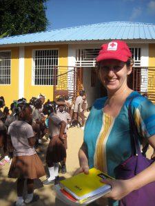 r der Schule in Haiti