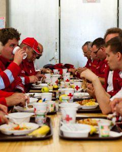 Das Essen hat besonders gut geschmeckt (Foto:ÖRK/NÖ/Moshammer)