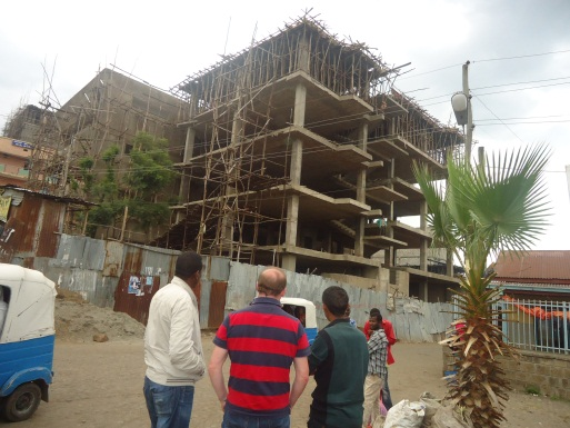 ADA Head of Ethiopia visiting ERCS West Arsi Multipurpose Building in Shashemene