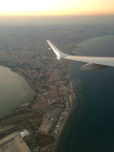 Am Flug nach Zypern