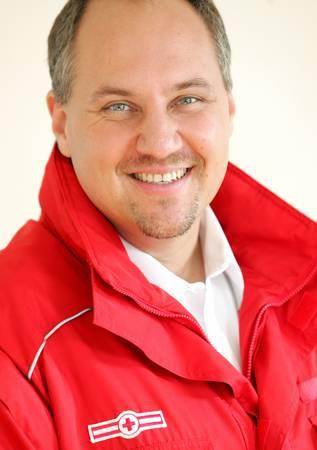 Mag. Gerry Foitik ist Bundesrettungskommandant des Österreichischen Roten Kreuzes